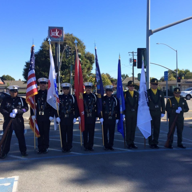 Monterey County Sheriff's Office - Veterans' Day Parade Photo