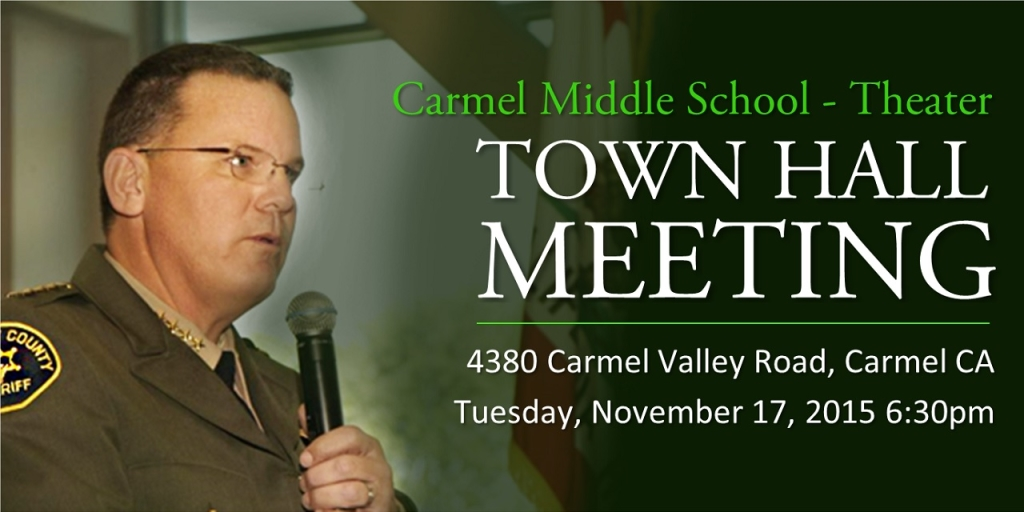 Town Hall Meeting - Carmel Middle School Theater